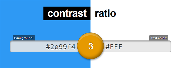 Leaverou Contrast Ratio