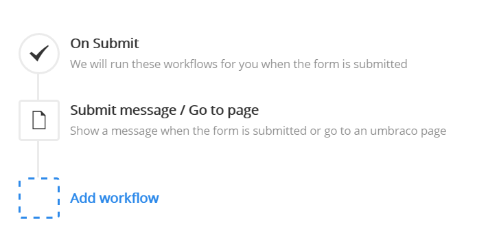 On Submit Workflow