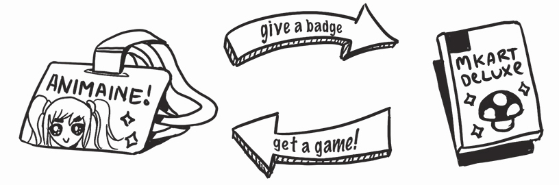 give a badge get a game.jpg